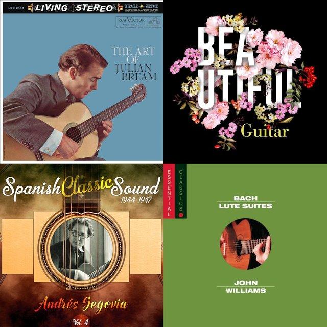 Cover art for album Vivascene Classical Guitar Masterpieces Playlist by User