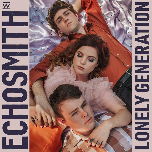 Cover art for album Lonely Generation by Echosmith