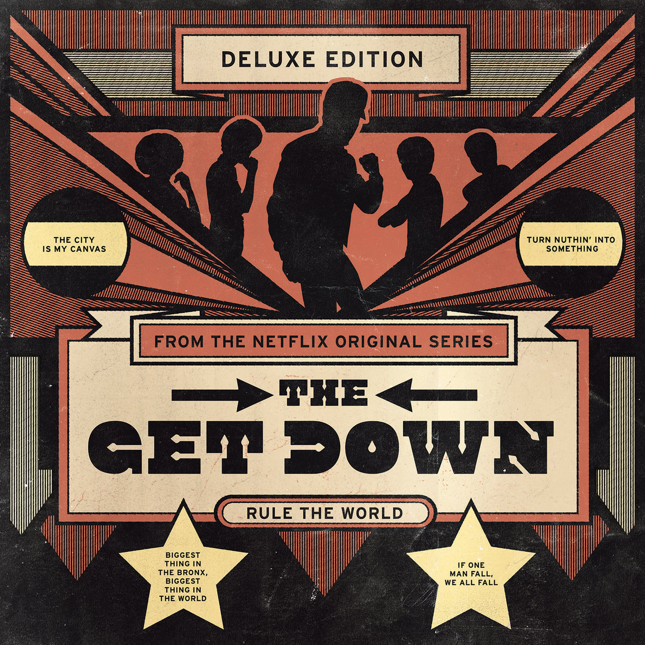Výsledek obrázku pro The Get Down (Original Soundtrack from the Netflix Original Series) [Deluxe Version]