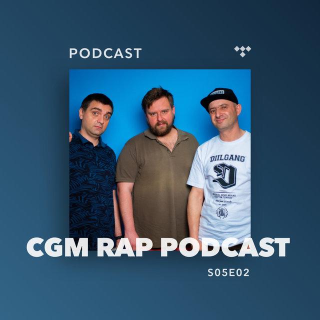 Cover art for album  by CGM Rap Podcast, Proceente, Marcin Flint, Wujek Samo Zło
