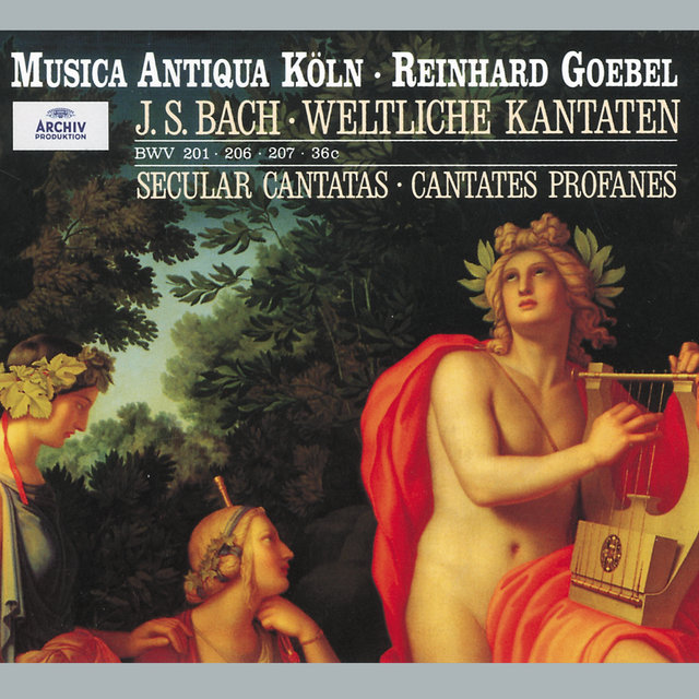Bach: Secular Cantatas, BWV 36c, 201, 206, 207, Quodlibet BWV 524