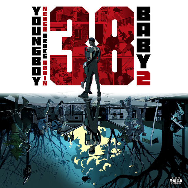 Cover art for album 38 Baby 2 by Youngboy Never Broke Again