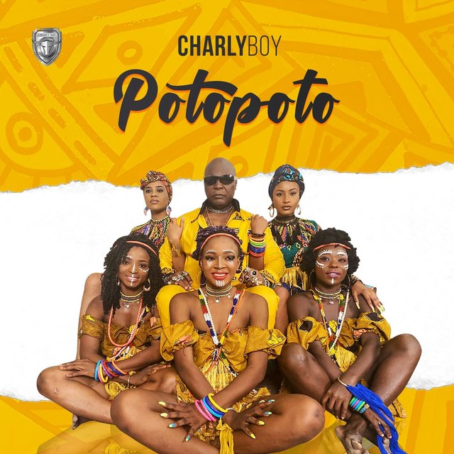 Cover art for album Potopoto by Charly Boy