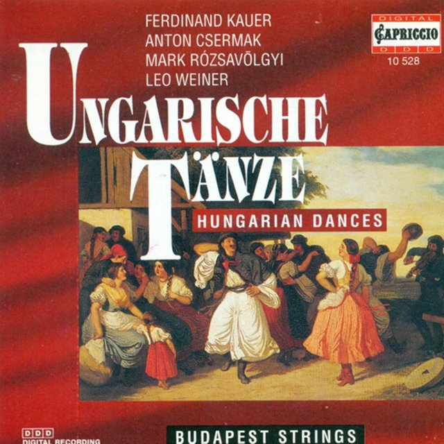 Orchestral Music (Hungarian) - Kauer, F. / Csermak, A. / Rozsavolgyi, M. / Weiner, L. (Hungarian Dances)
