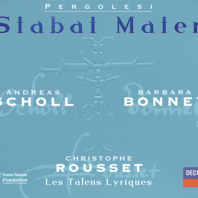 Pergolesi: Stabat Mater; Salve Regina in F minor; Salve Regina in A minor