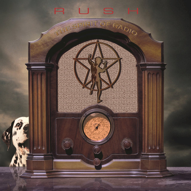 Cover art for album The Spirit Of Radio: Greatest Hits (1974-1987) by Rush