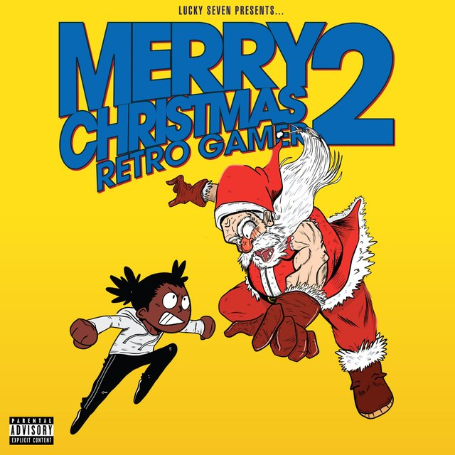 Cover art for album Merry Christmas Retro Gamer 2 by Lucky Seven
