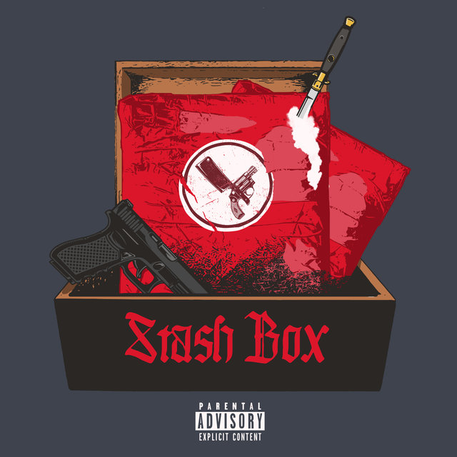 Cover art for album Stash Box by 38 Spesh, Benny The Butcher