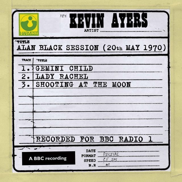 Alan Black Session (20th May 1970)