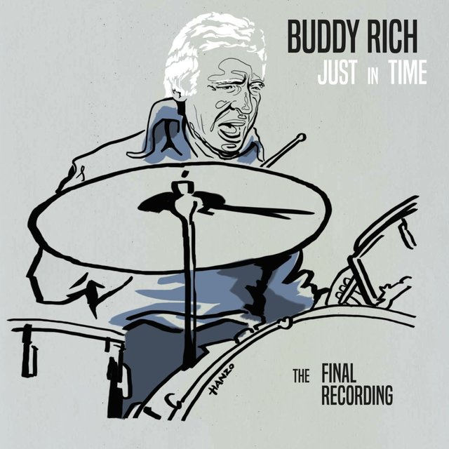 Cover art for album Just in Time - The Final Recording by Buddy Rich