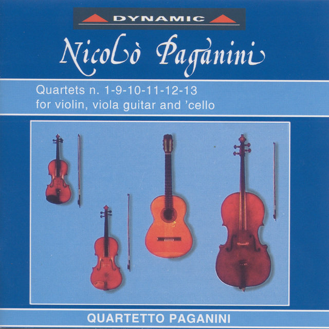 Paganini, N.: 15 Quartets for Strings and Guitar (The), Vol. 1