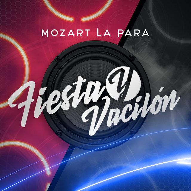 Cover art for album Fiesta y Vacilón by Mozart La Para