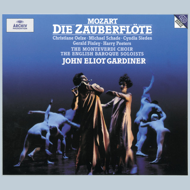Cover art for album Mozart: Die Zauberflote by The Monteverdi Choir, English Baroque Soloists, John Eliot Gardiner