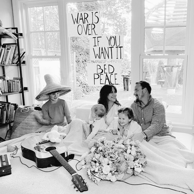 Cover art for album Happy Xmas (War is Over) by Alanis Morissette