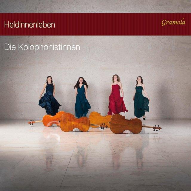 Cover art for album Heldinnenleben by Die Kolophonistinnen