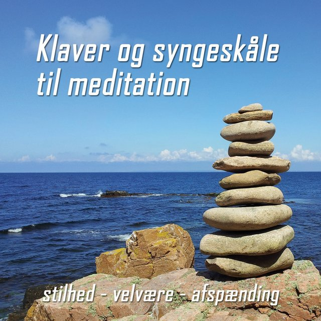 Cover art for album Klaver og syngeskåle til meditation by Gert Bach, Kristian Marcussen