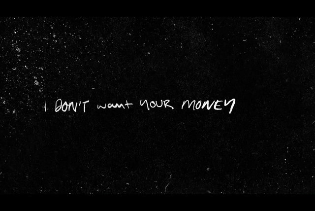 I Don't Want Your Money (feat. H.E.R.) [Lyric Video]
