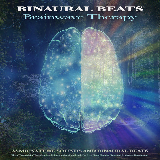 Binaural Beats Brainwave Therapy: Asmr Nature Sounds and Binaural Beats, Theta Waves, Alpha Waves, Isochronic Tones and Ambient Music For Deep Sleep, Sleeping Music and Brainwave Entrainment