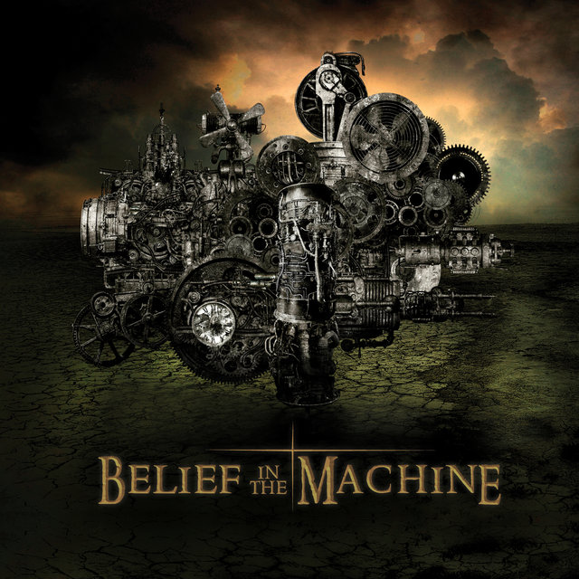 Cover art for album Belief in the Machine by Rick Miller