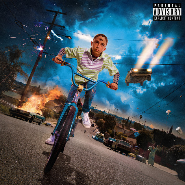 Cover art for album YHLQMDLG by Bad Bunny