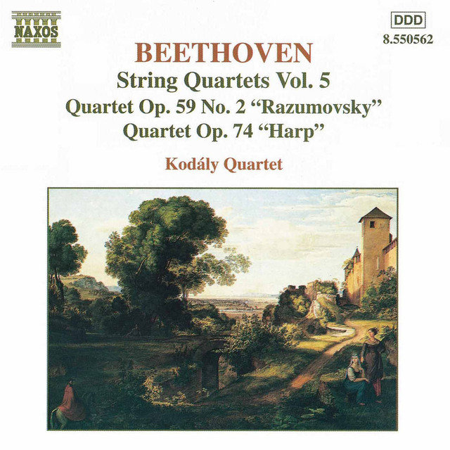 Beethoven: String Quartets Op. 59, No. 2, 'Rasumovsky' and Op. 74, 'Harp'