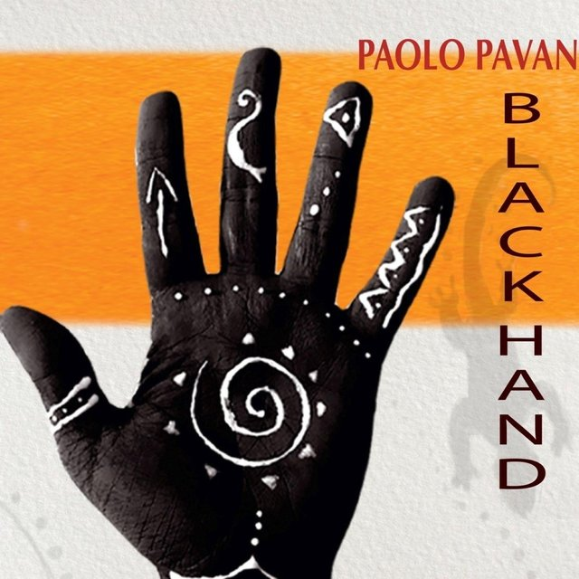 Cover art for album Black Hand by Paolo Pavan