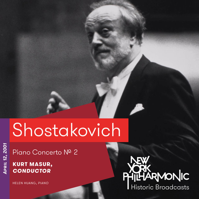 Shostakovich: Piano Concerto No. 2 (Recorded 2001)