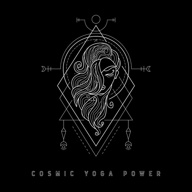 Cosmic Yoga Power - Ambient New Age Melodies for Mindfulness Meditation and Yoga Training, Chakra Flow, Deep Concentration, Relax Therapy, Open Heart