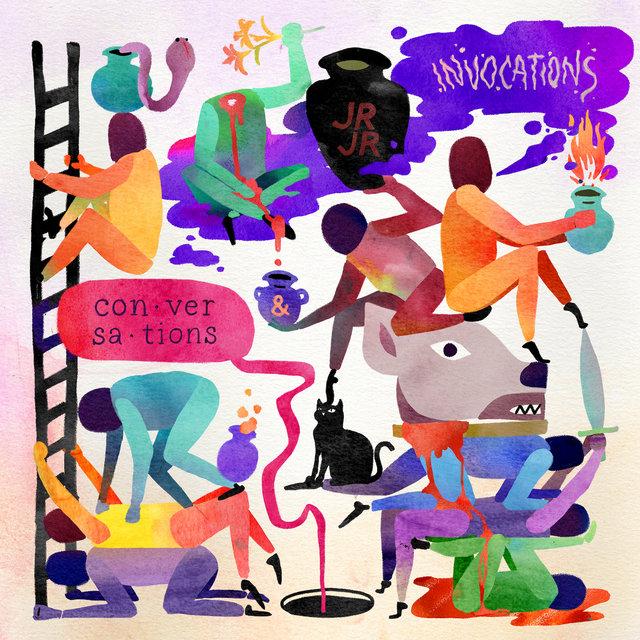 Cover art for album Invocations / Conversations by JR JR
