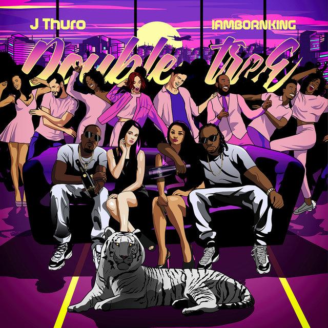 Cover art for album  by J Thuro, IAMBORNKING