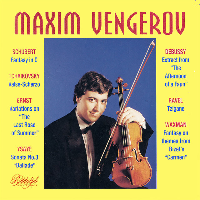 Maxim Vengerov: Debut Album