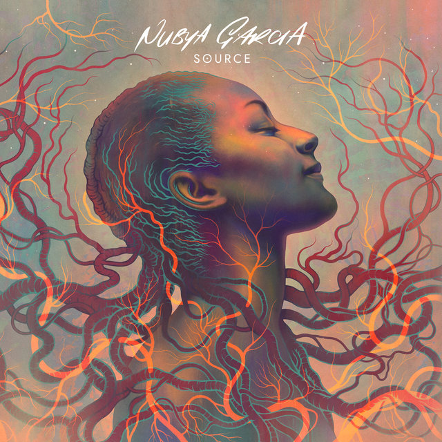 Cover art for album SOURCE by Nubya Garcia