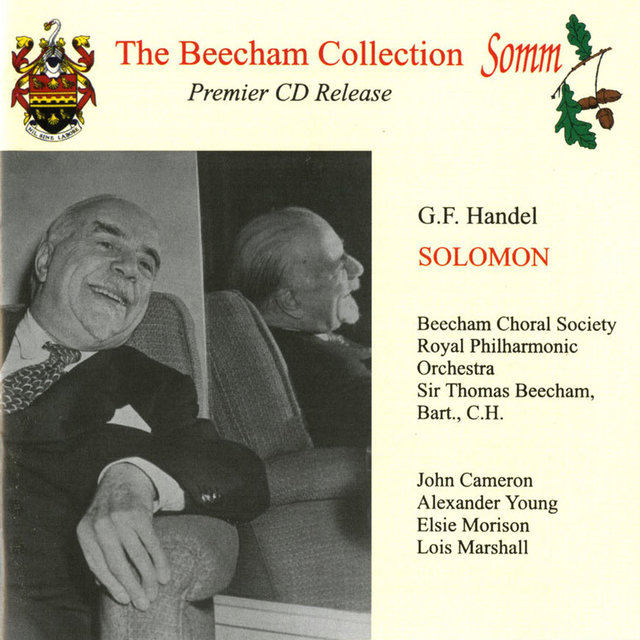 Handel: Solomon (The Beecham Collection)