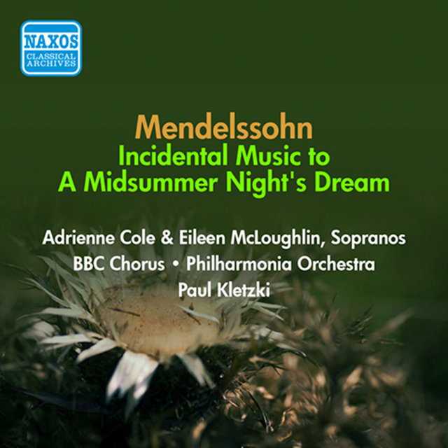 Mendelssohn, F: Midsummer Night's Dream (A) (Excerpts) (Kletzki) (1954)