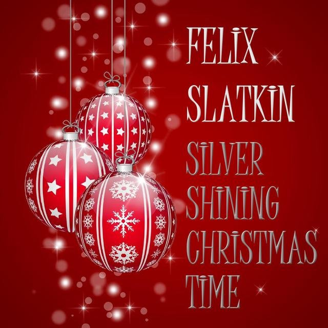 Silver Shining Christmas Time