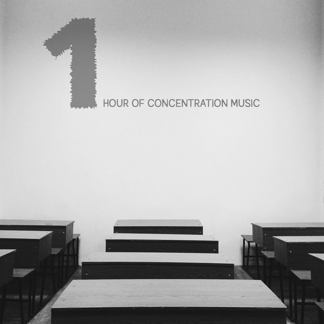 1 Hour of Concentration Music - Intellectual Stimulation by New Age Melodies, Focus Control, Good Results, Mindfulness Training, Smart & Brilliant, Test Preparation