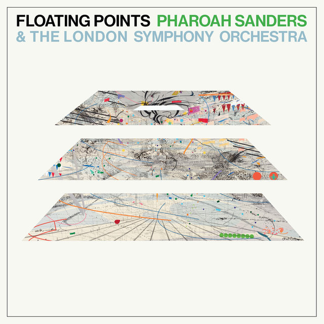 Cover art for album Promises by Floating Points, Pharoah Sanders, London Symphony Orchestra