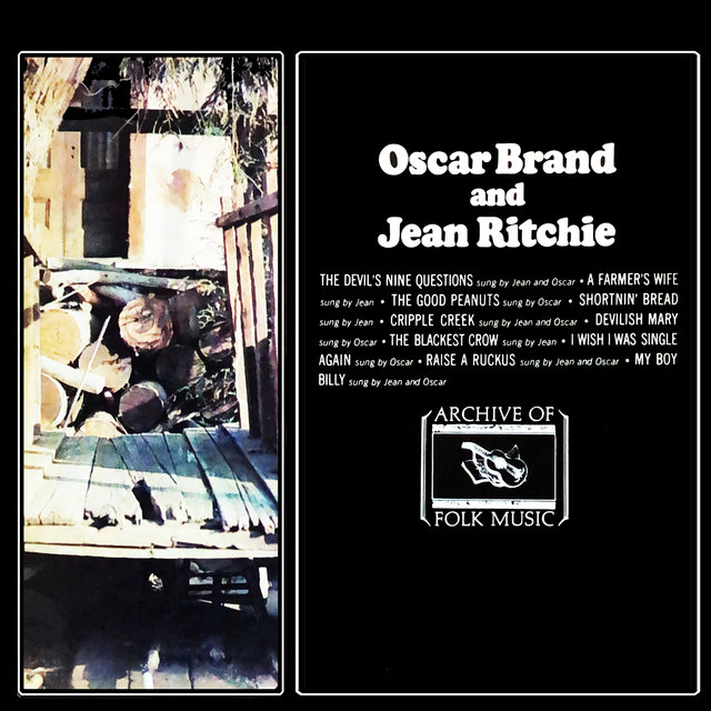 Oscar Brand and Jean Ritchie