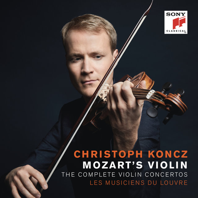 Cover art for album Mozart's Violin - The Complete Violin Concertos by Christoph Koncz