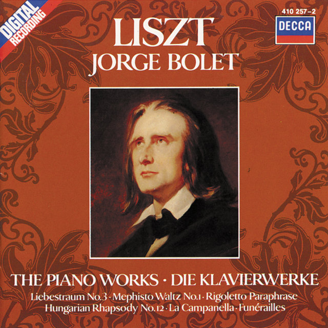 Liszt: Piano Works Vol. 1 - La Campanella; Mephisto Waltz No. 1 etc