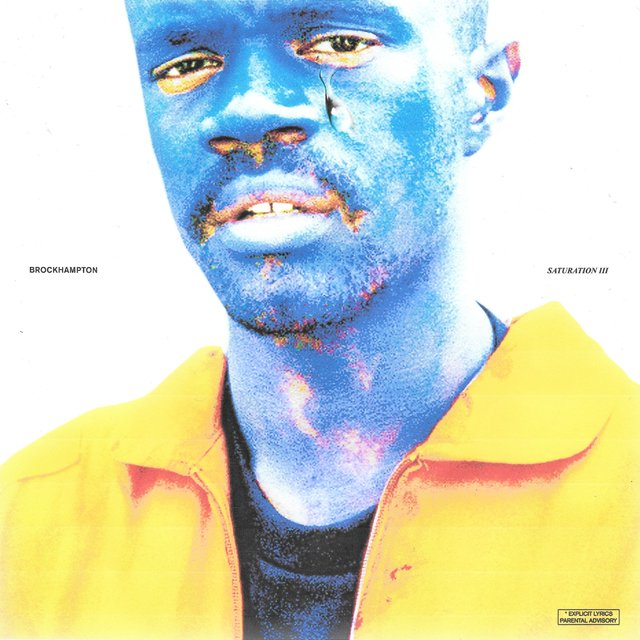 Cover art for album SATURATION III by BROCKHAMPTON