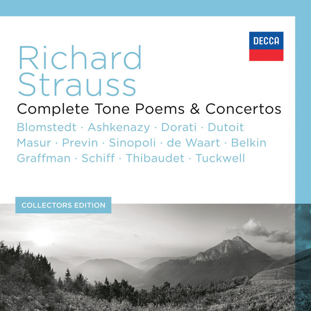 Cover art for album Richard Strauss - Complete Tone Poems & Concertos (13 Components) by Various Artists