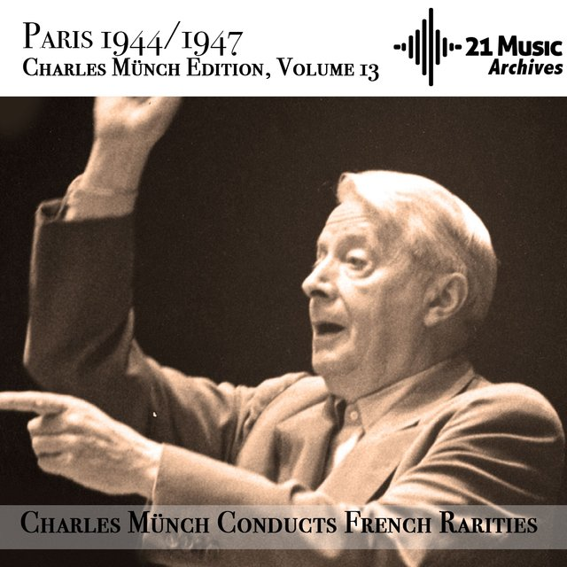 Charles Münch conducts French Rarities