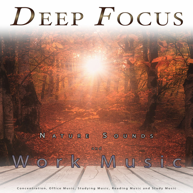 Deep Focus: Nature Sounds and Work Music For Concentration, Office Music, Studying Music, Reading Music and Study Music