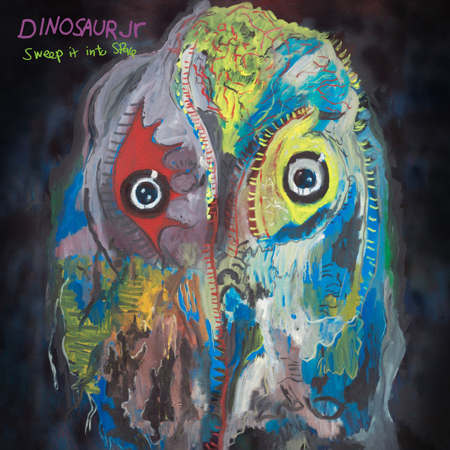 Cover art for album Sweep It Into Space by Dinosaur Jr.