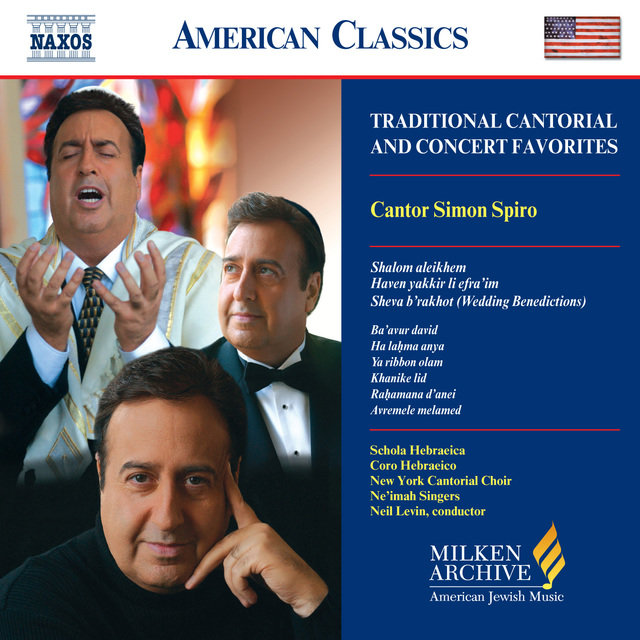 Spiro, Simon: Traditional Cantorial and Concert Favorites