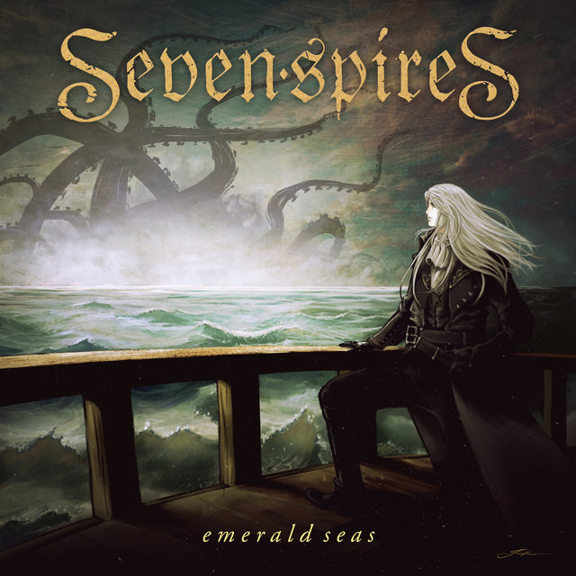Cover art for album Emerald Seas by Seven Spires