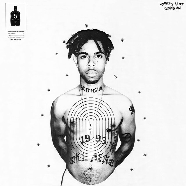 Cover art for album There's Alot Going On by VIC MENSA