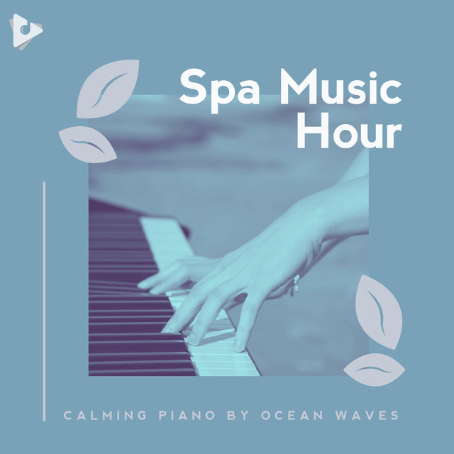 Calming Piano by Ocean Waves