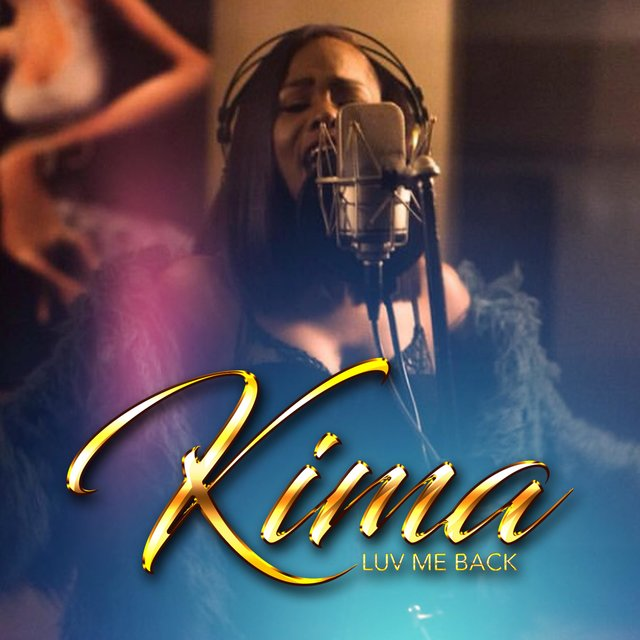 Cover art for album Luv Me Back by Kima